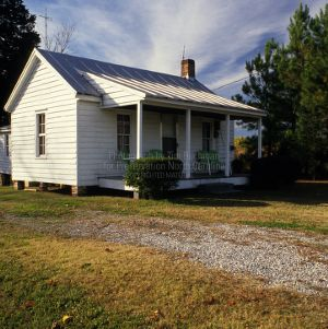 View, Lassiter Farm Tenant House, Gates County, North Carolina