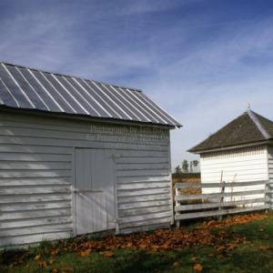 Smokehouse and dairy, Gatling Farm, Gates County, North Carolina