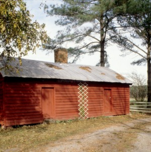 Outbuilding, Caleb Savage Farm, Gates County, North Carolina