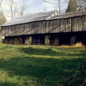 View, Barn, Mendenhall Plantation, Jamestown, North Carolina