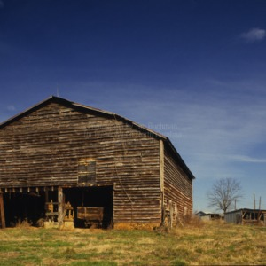 Barn, Andrew Loretz House, Lincoln County, North Carolina