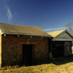 Outbuildings, Andrew Loretz House, Lincoln County, North Carolina