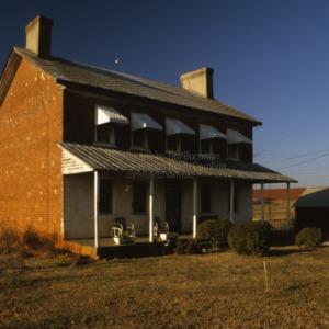 View, Andrew Loretz House, Lincoln County, North Carolina