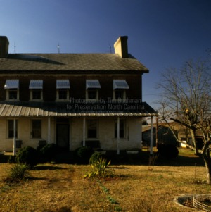 View from yard, Andrew Loretz House, Lincoln County, North Carolina