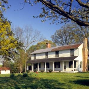 View, Farmhouse, Seagle Farm, Lincoln County, North Carolina