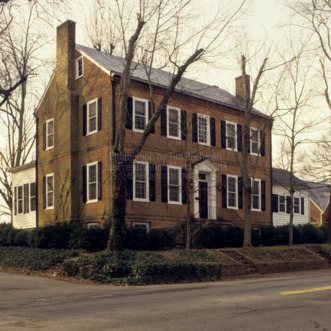 Front View, Shadow Lawn, Lincolnton, North Carolina