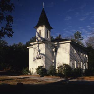 View, Bethesda Presbyterian Church, Moore County, North Carolina