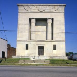 View, Masonic Temple, Rocky Mount, North Carolina