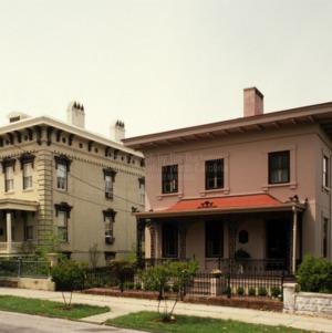 View, Edward Savage House, Wilmington, North Carolina
