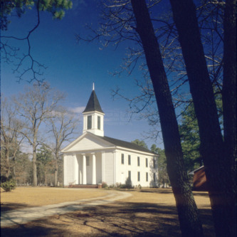 View, Philadelphus Presbyterian Church, Philadelphus, North Carolina
