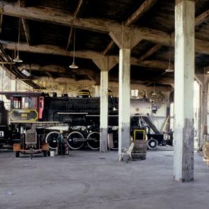 Interior, Spencer Shops, Spencer, North Carolina