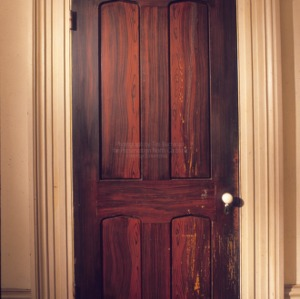 Interior door, Cherry Hill, Warren County, North Carolina