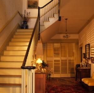 Interior with stairway, Somerville-Graham House, Warrenton, North Carolina