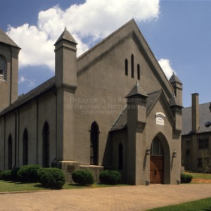 View, Waldensian Presbyterian Church, Valdese, North Carolina