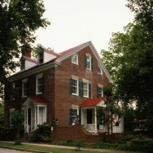 View, Eli Smallwood House, New Bern, North Carolina