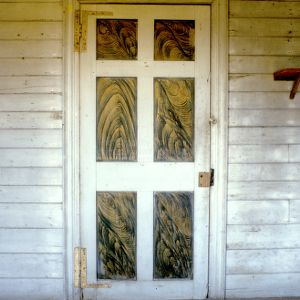 Door, Bynum-Sugg House, Edgecombe County, North Carolina