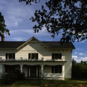 View, Allen-Mangum House, Granville County, North Carolina