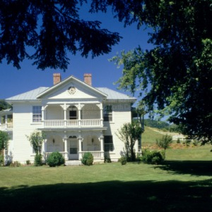 Front View, Jefferson J. White, Jr. House, Madison County, North Carolina