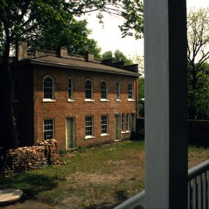 Slave quarters view, Bellamy Mansion, Wilmington, North Carolina
