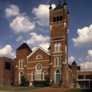 View, Main Street Methodist Church, Reidsville, North Carolina