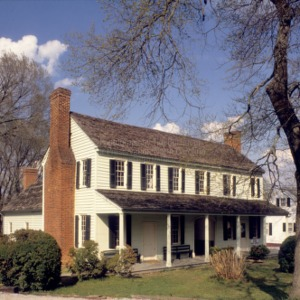 View, Wright Tavern, Wentworth, North Carolina