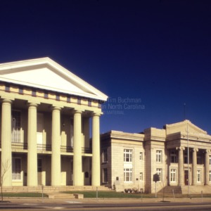 View, Old Rowan County Courthouse, Salisbury, North Carolina