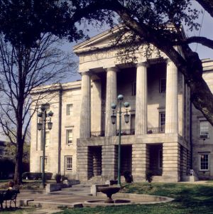 View, North Carolina State Capitol, Raleigh, North Carolina