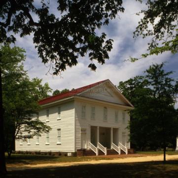 View, Old Bluff Presbyterian Church, Cumberland County, North Carolina