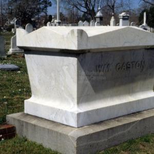 Grave of William Gaston, Cedar Grove Cemetery, New Bern, Craven County, North Carolina