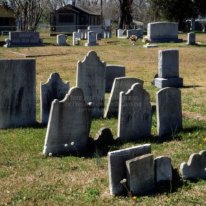 African American graves, Christ Church, New Bern, Craven County, North Carolina