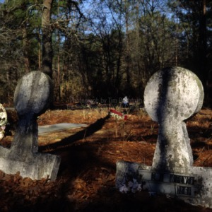 Grave of O. A. Melvin, China Grove Church, Cumberland County, North Carolina