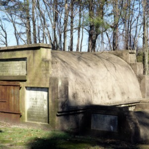 Boone tomb and Bell vault, Cross Creek Cemetery, Fayetteville, Cumberland County, North Carolina