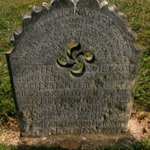 Grave of Felix Glatfelter, Bethany Church and Cemetery, Davidson County, North Carolina