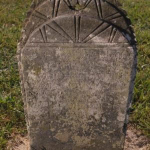 Grave of Peter Clodfelter, Bethany Church and Cemetery, Davidson County, North Carolina