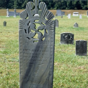 Grave of Henry Grimes, Beulah Church, Davidson County, North Carolina
