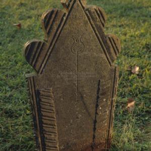 Grave of Hester Word, Jersey Baptist Church, Davidson County, North Carolina