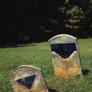 Grave of unknown individual, Old Smith Grove Church, Davidson County, North Carolina