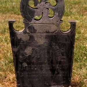 Grave of Peter Lopp, Pilgrim Church, Davidson County, North Carolina