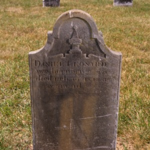 Grave of Daniel Leonard, Pilgrim Church, Davidson County, North Carolina
