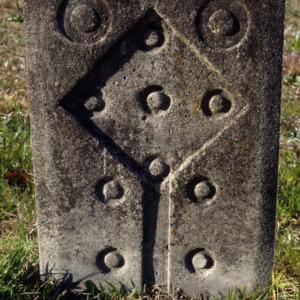 Grave of unidentified individual, Spring Hill Church, Davidson County, North Carolina