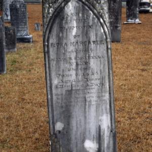 Grave of Flora McKay, Summerville Presbyterian Church, Harnett County, North Carolina