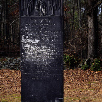 Grave of Archibald McDiarmid, Longstreet Presbyterian Church, Fort Bragg, North Carolina