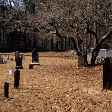 Cemetery, Longstreet Presbyterian Church, Fort Bragg, North Carolina