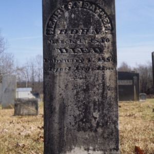 Grave of Henry Heavner, Old White Zion Church, Lincoln County, North Carolina