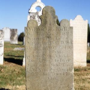 Grave of William Rudisill, Salem Union Church, Lincoln County, North Carolina