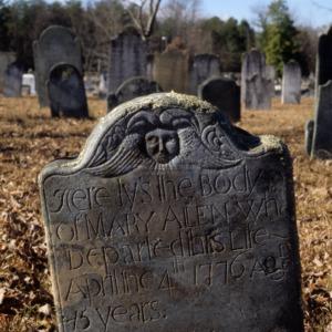 Grave of Mary Allen, Steele Creek Presbyterian Church, Mecklenburg County, North Carolina
