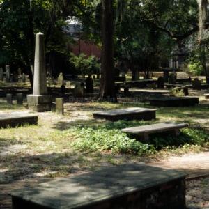 Cemetery, St. James Episcopal Church, Wilmington, New Hanover County, North Carolina