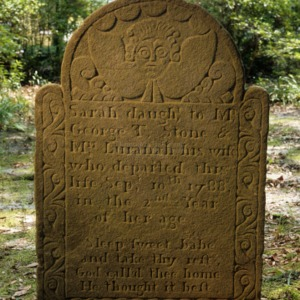 Grave of Sarah Stone, St. James Episcopal Church, Wilmington, New Hanover County, North Carolina