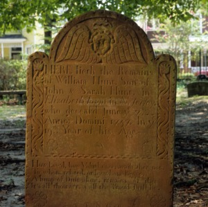 Grave of William Hunt, St. James Episcopal Church, Wilmington, New Hanover County, North Carolina