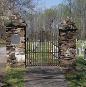 Gateway, Thyatira Presbyterian Church, Rowan County, North Carolina
